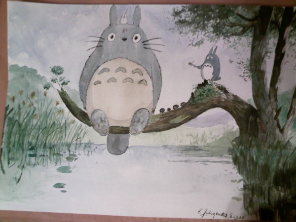 My Neighbor Totoro por ciastkozdzemem